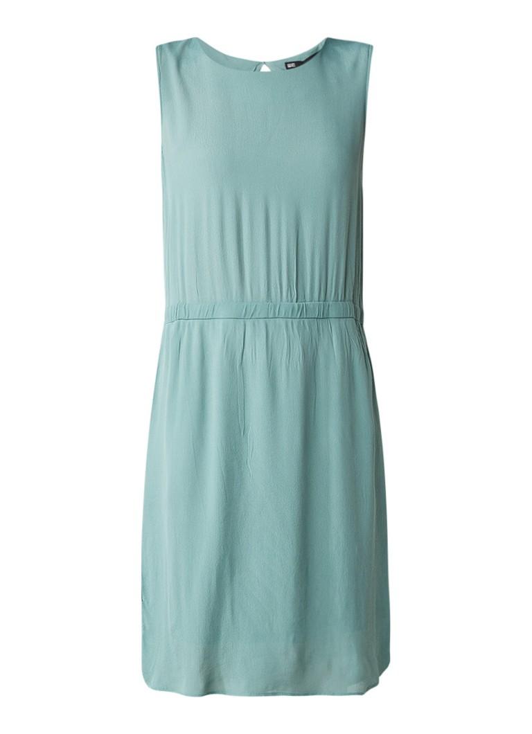 WE Fashion Haylee jurk met steekzakken en gesmockte tailleband