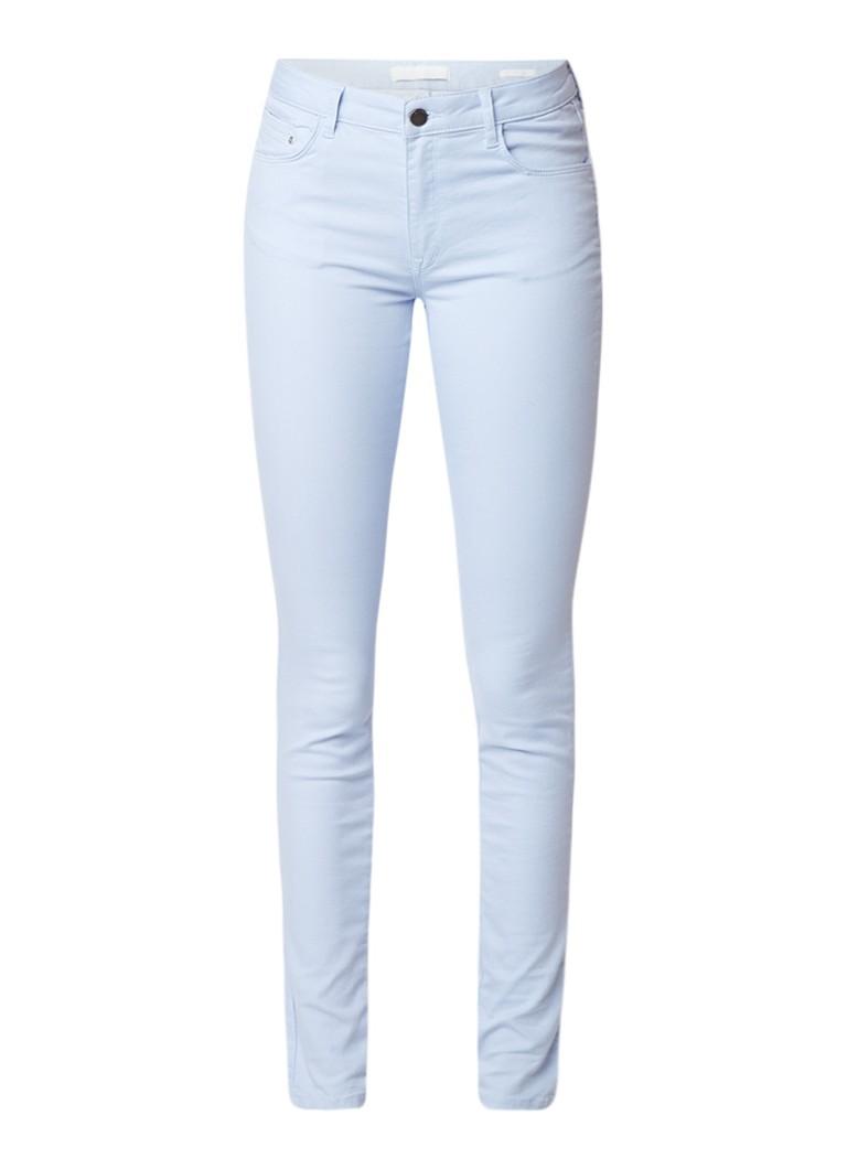 WE Fashion Blue Ridge Hope mid rise skinny jeans met lichte wassing