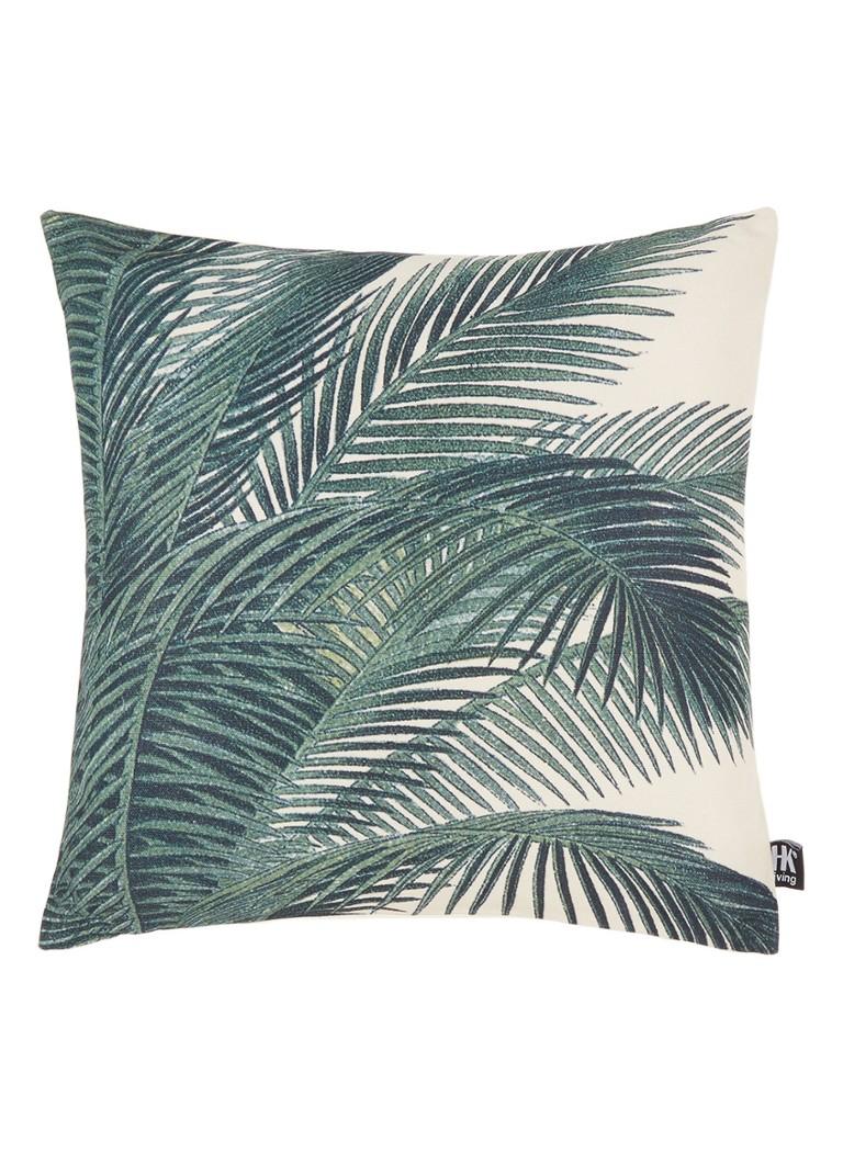 HK Living Sierkussen met palmbladeren 45 x 45 cm