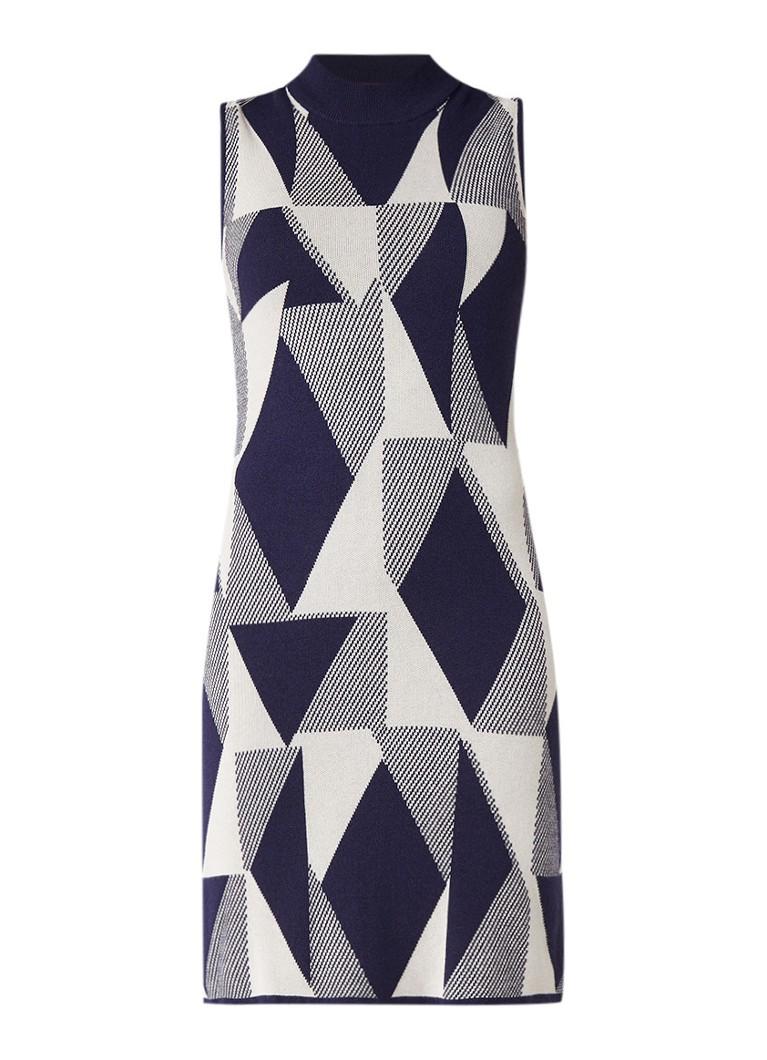 Benetton Fijngebreide jurk met