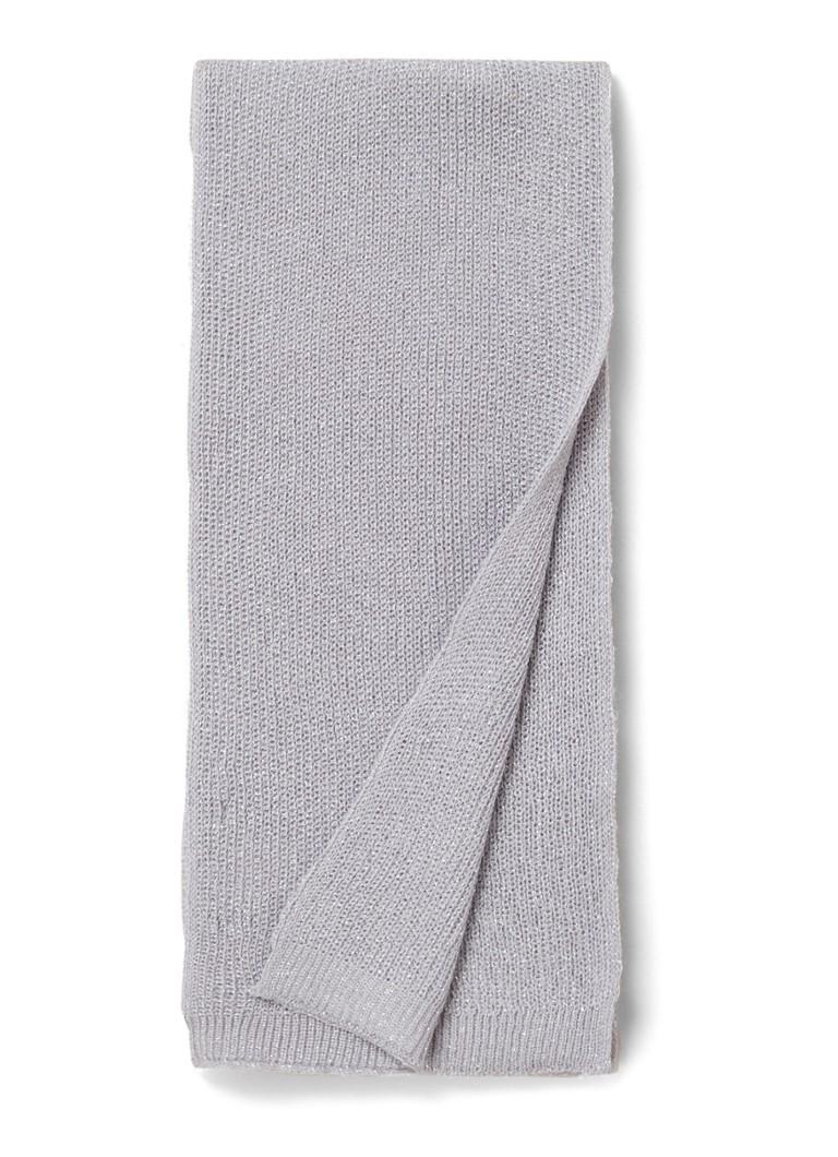Benetton Fijngebreide sjaal met lurex 200 x 15 cm