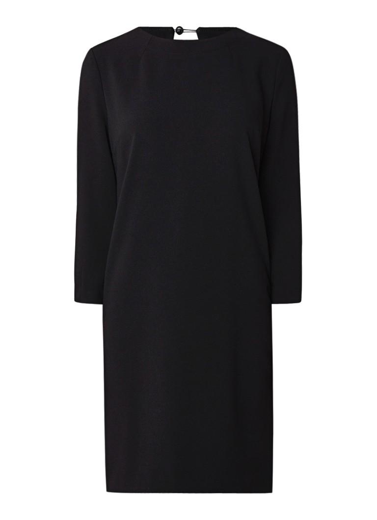 Benetton Loose fit jurk met driekwartmouw zwart