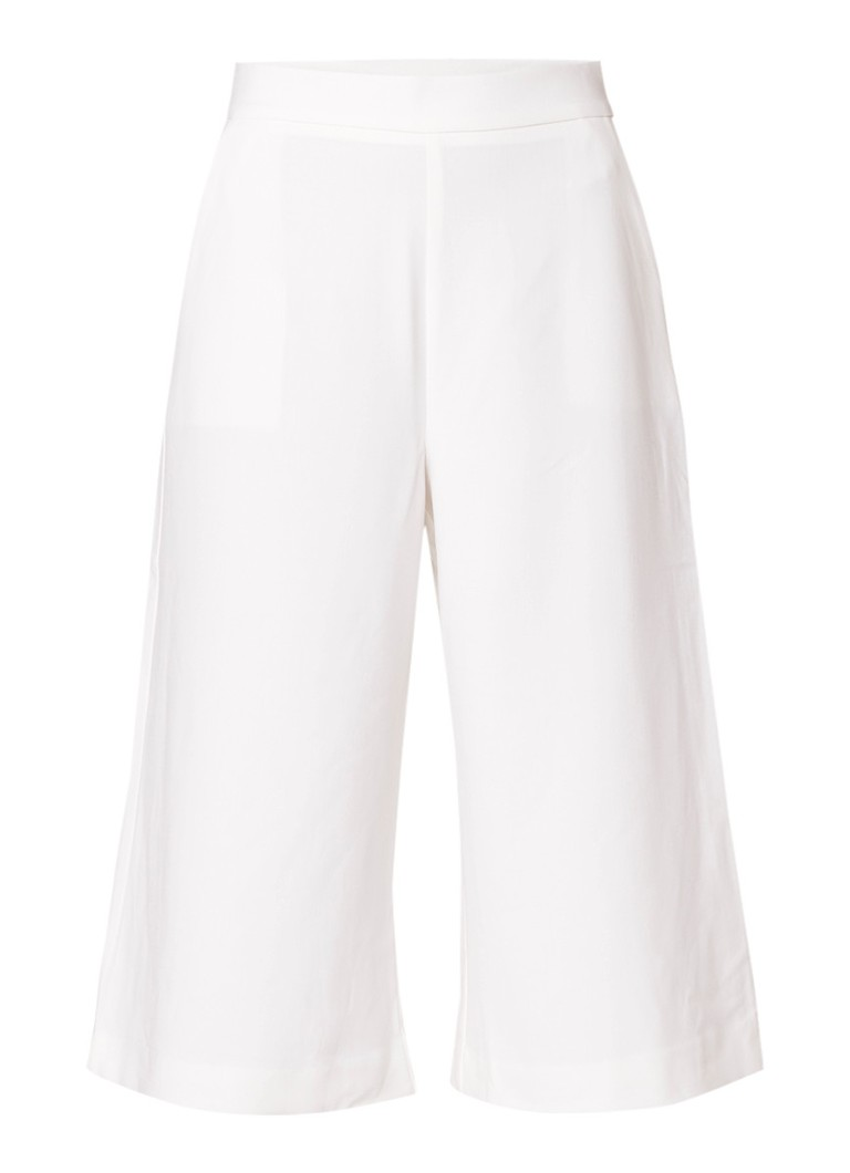 French Connection Whisper high rise culotte met steekzak