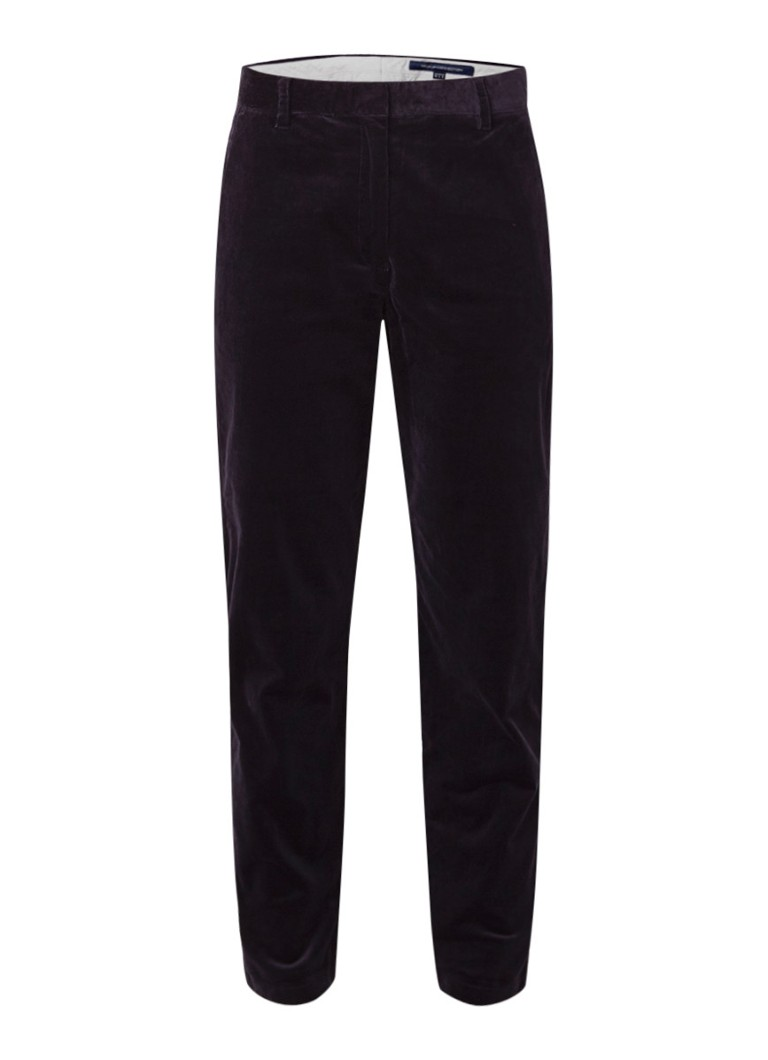 French Connection Dawn high rise cropped chino van corduroy
