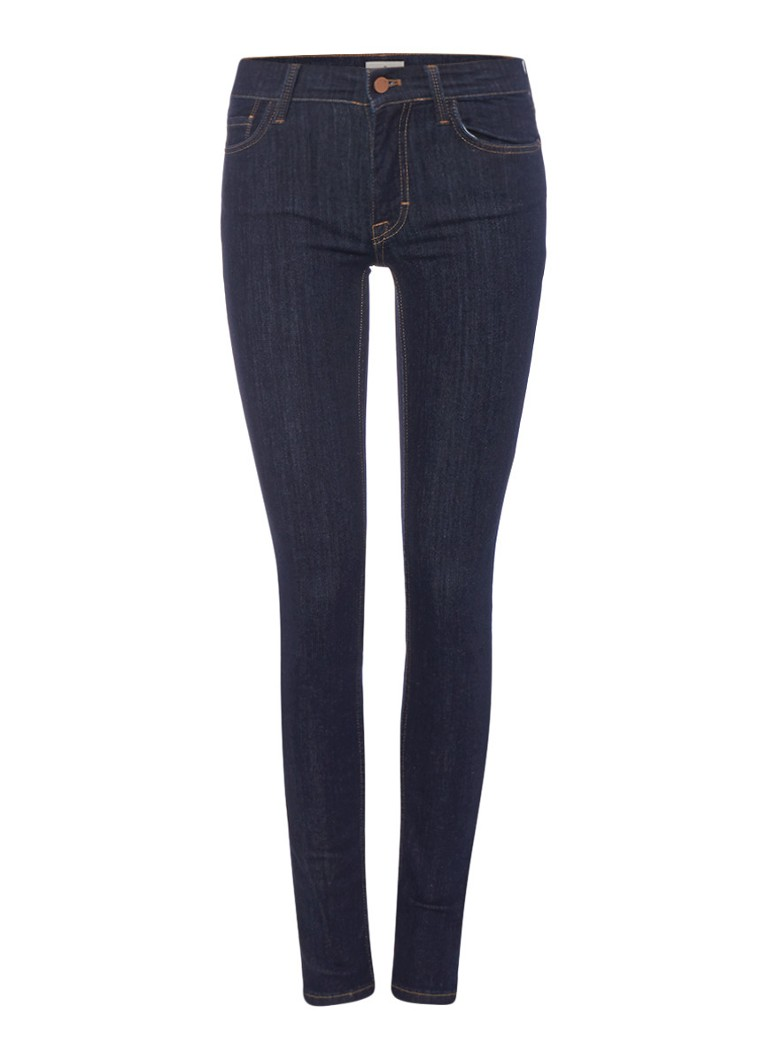 French Connection Rebound mid rise skinny jeans met stretch grijs