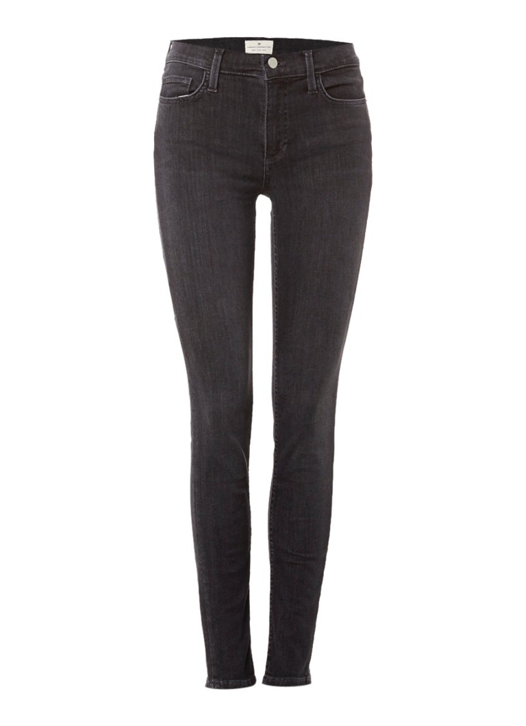 French Connection Rebound mid rise skinny jeans grijs