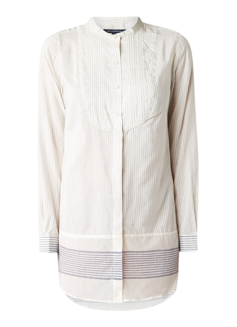 French Connection Hasan blouse met streepdessin