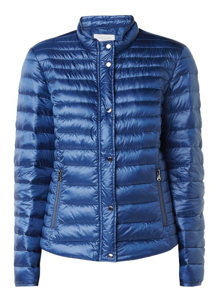 Gerry Weber gewatteerde winterjas kobaltblauw