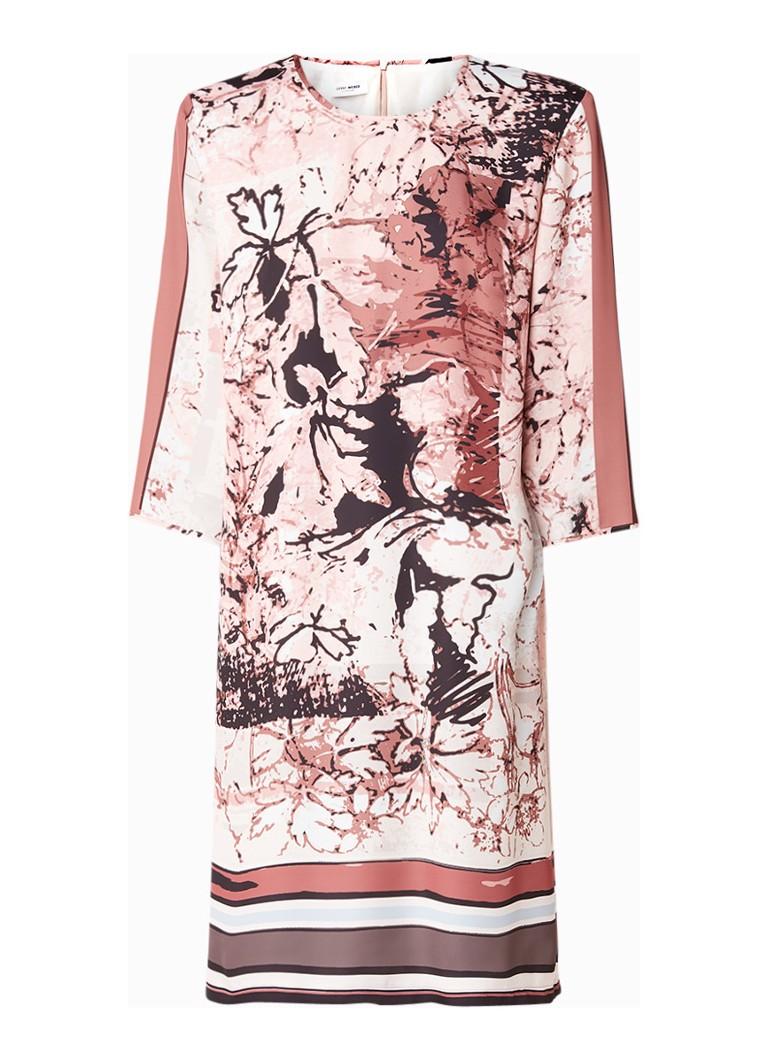Gerry Weber Tuniekjurk van satijn met dessin roze