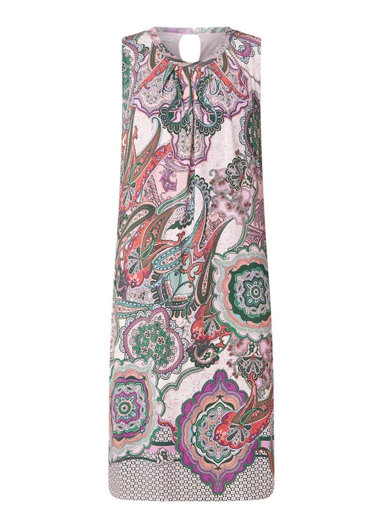 Gerry Weber Midi-jurk met dessin lichtroze