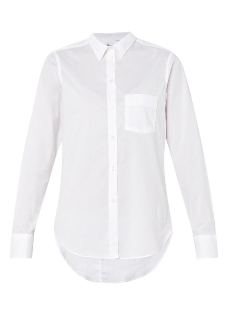 Filippa K Witte getailleerde blouse