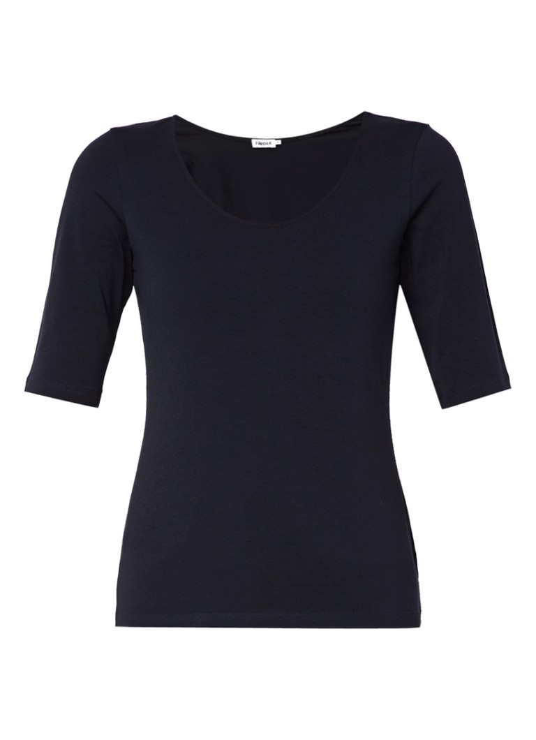 Filippa K Tshirt basic Blauw