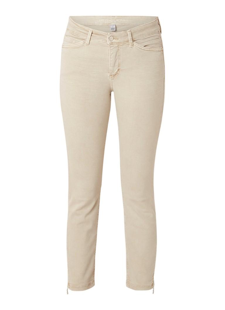 MAC Dream Chic 7/8 high rise slim fit jeans met ritsdetail