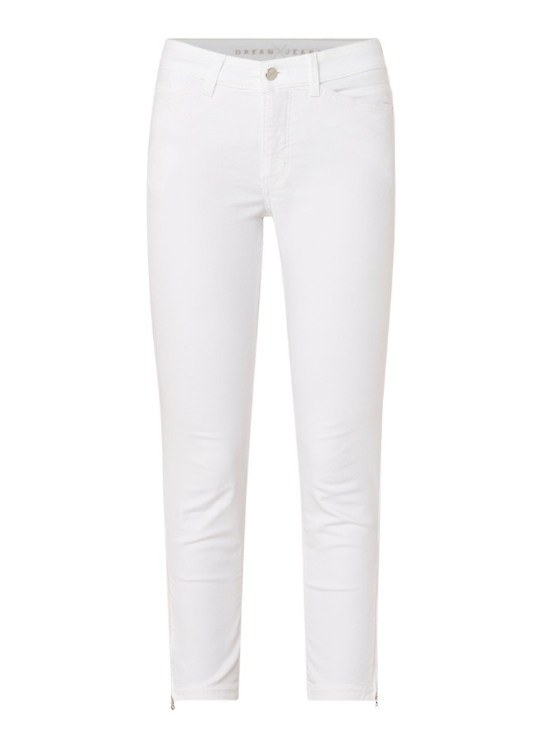 MAC Dream chic mid rise skinny fit cropped jeans