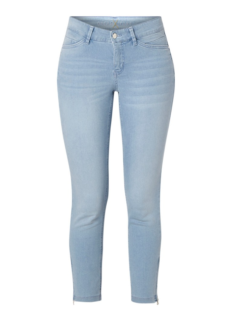 MAC Dream Chic mid rise cropped skinny fit jeans