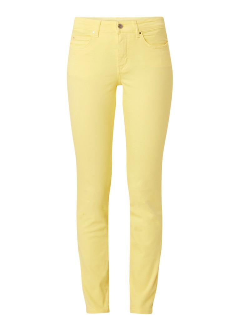 MAC Dream mid rise cropped skinny fit jeans met gekleurde wassing