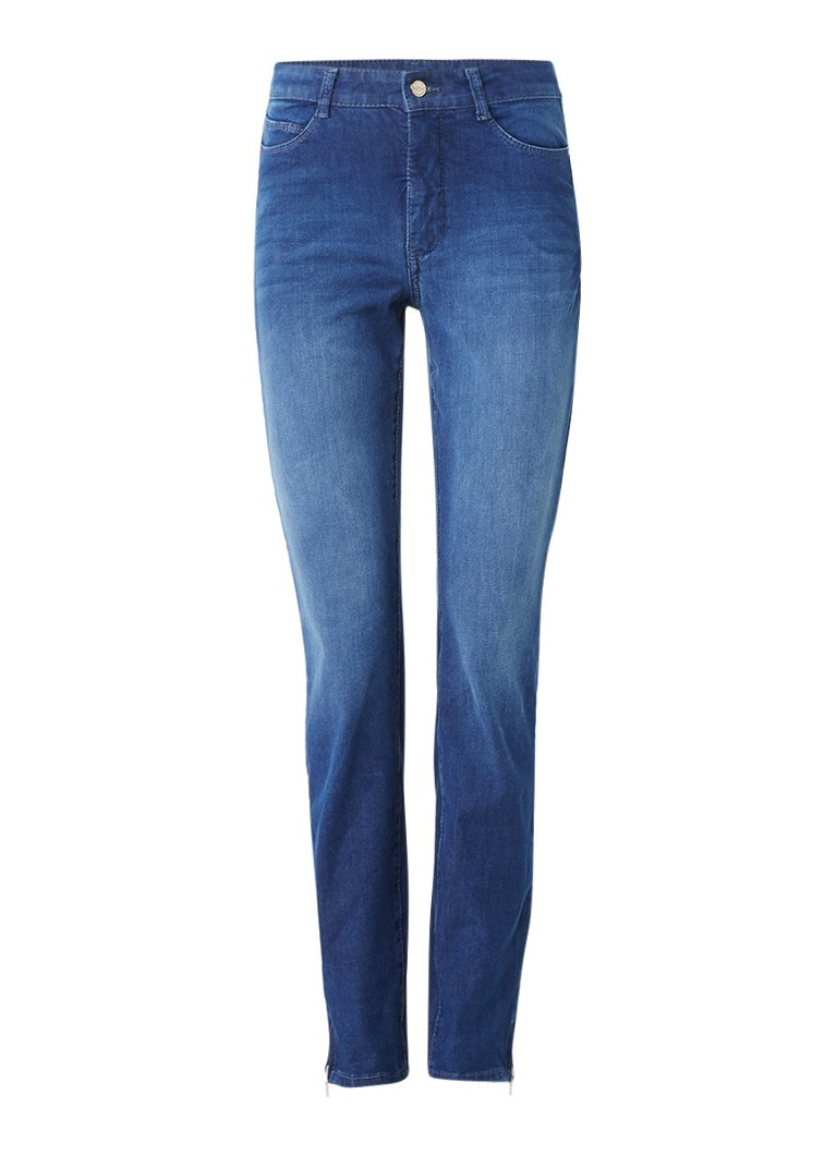 MAC Sensation high rise skinny fit jeans met Swarovski details