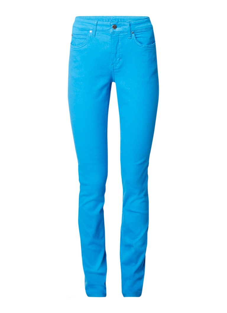 MAC Dream high rise skinny fit jeans met gekleurde wassing