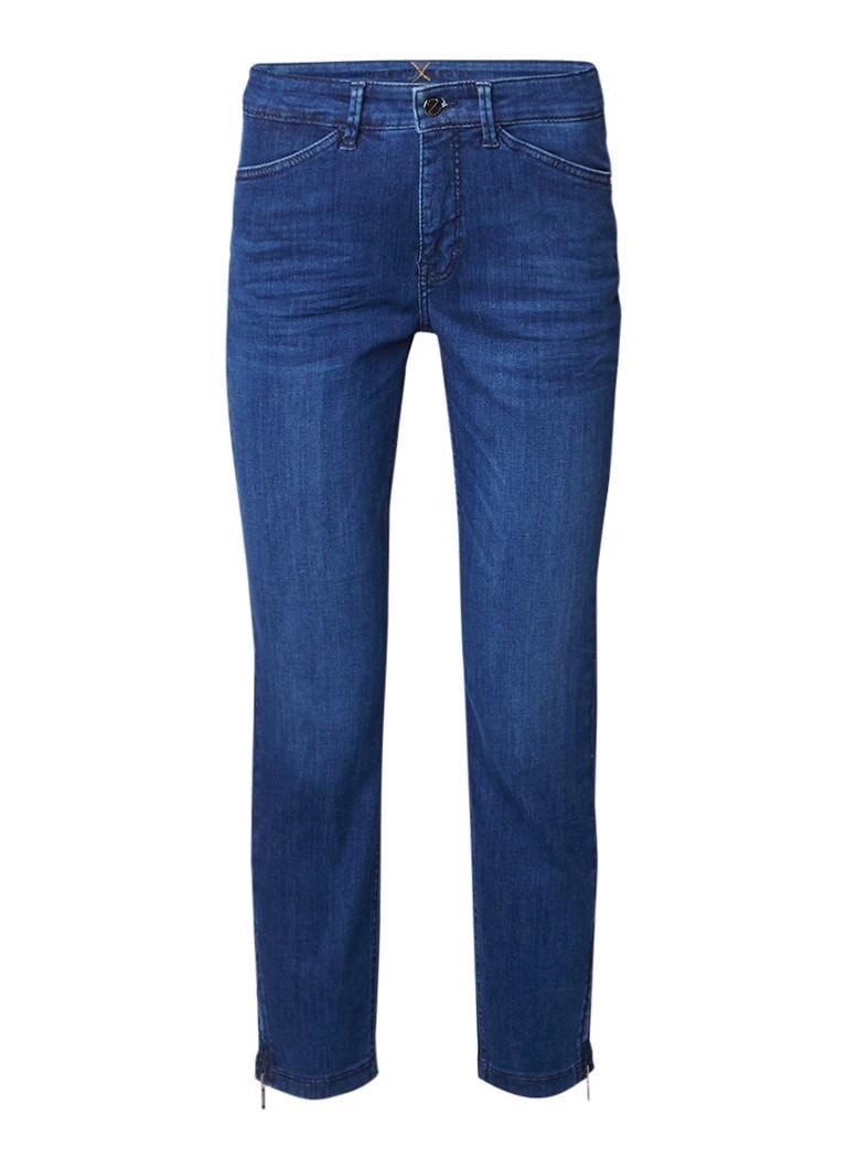 MAC High rise straight fit jeans met ritsdetail