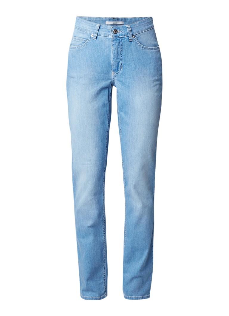 MAC Melanie high rise straight fit jeans met stretch