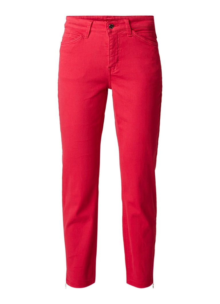 MAC Dream high rise slim fit jeans met stretch en enkelritsen