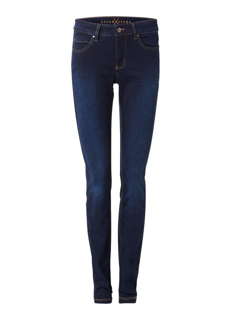 MAC Dream high rise skinny jeans met donkere wassing