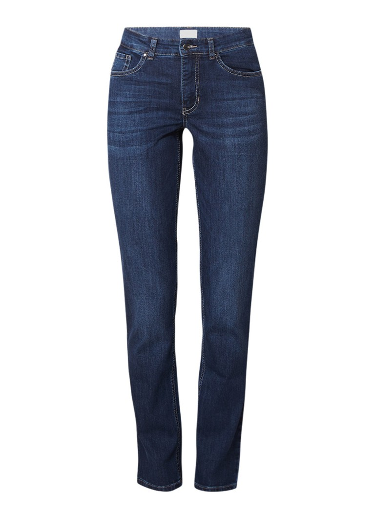 Image of MAC Melanie straight fit jeans met stretch