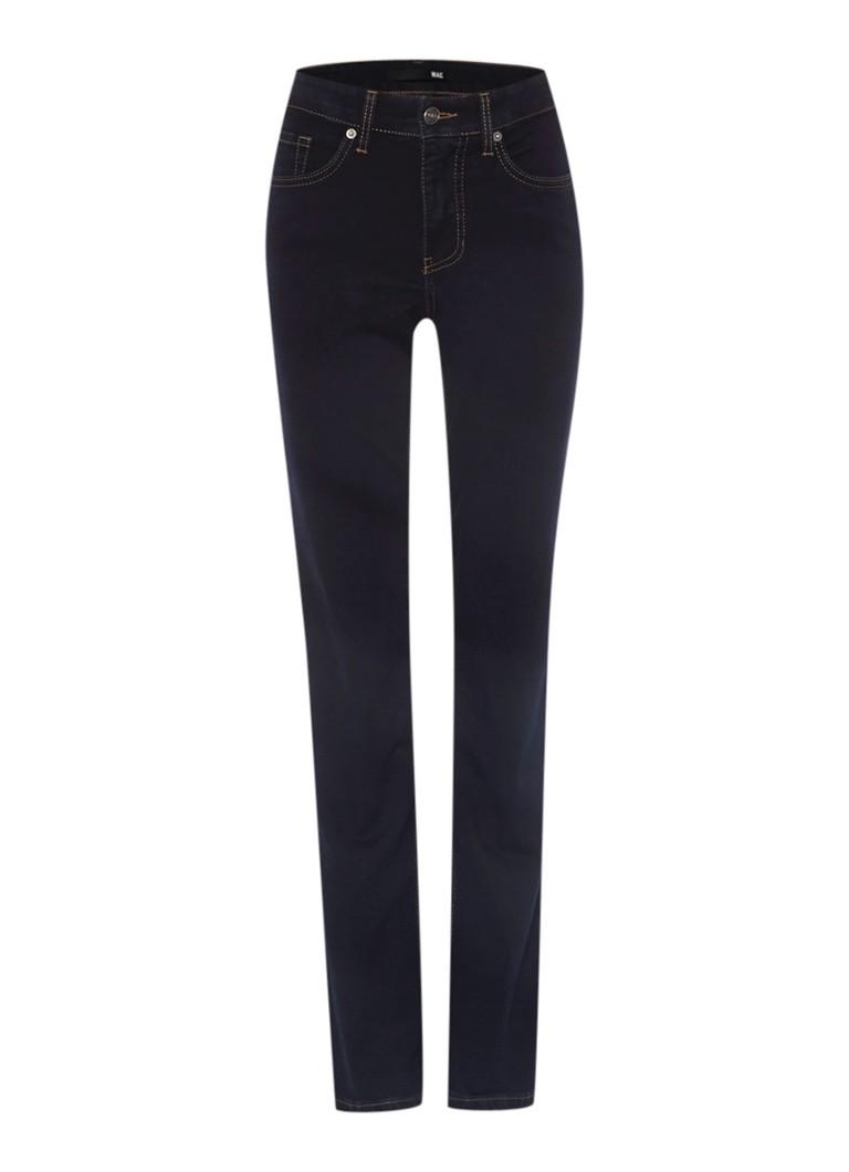 MAC Donkerblauwe straight fit jeans Melanie