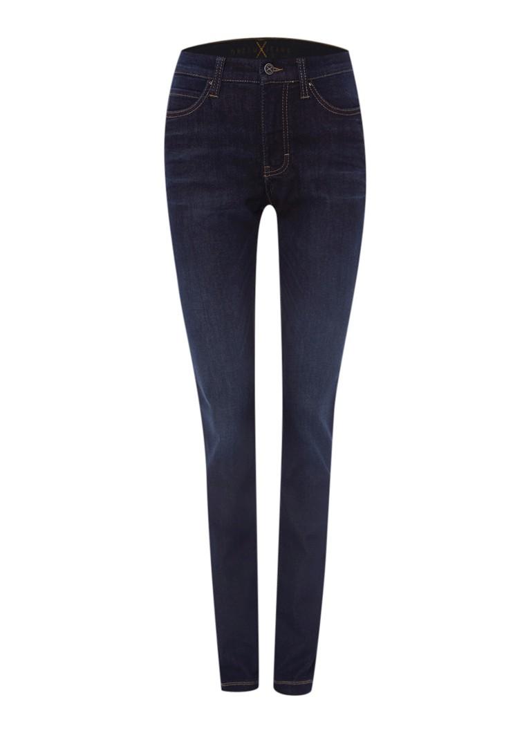MAC Skinny fit jeans Dream met donkere wassing