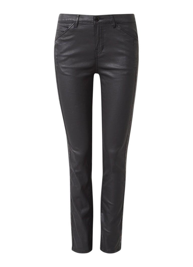 Opus Emily regular rise 5-pocket slim fit jeans met coating