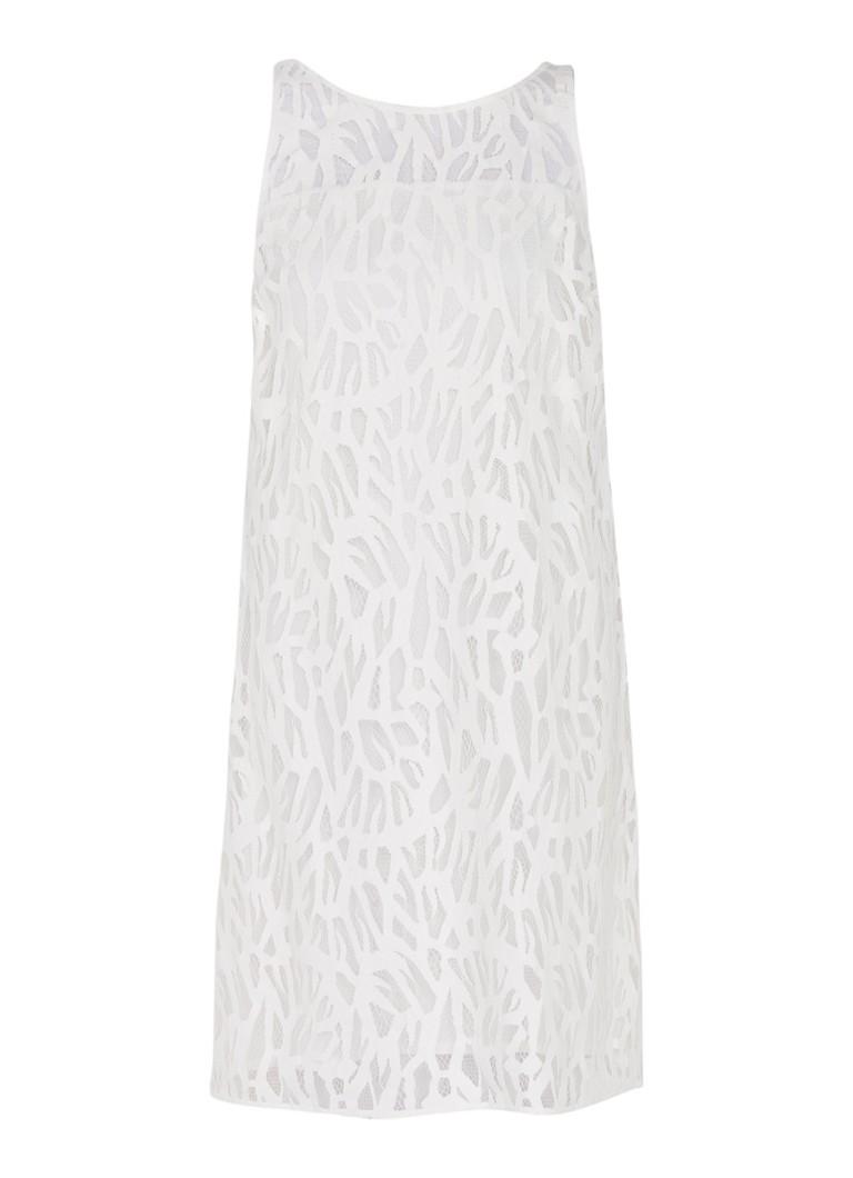 Expresso Gabriella tuniekjurk van kant gebroken wit