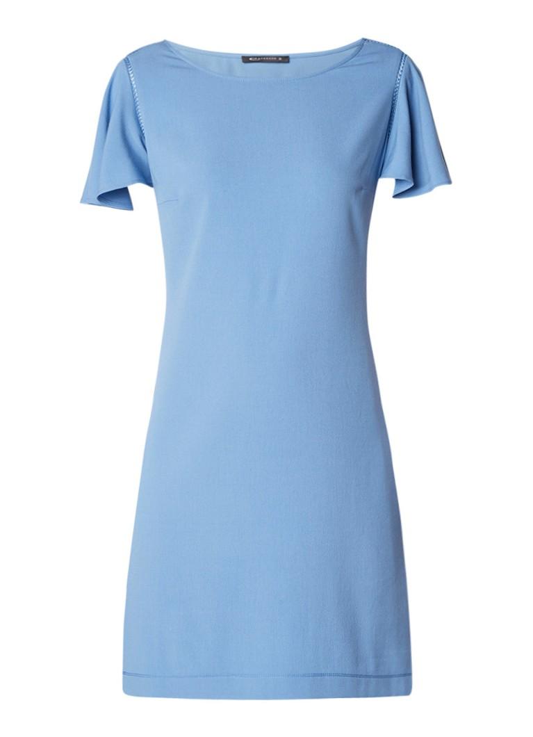 Expresso Ebeth tuniekjurk met opengewerkt detail lichtblauw