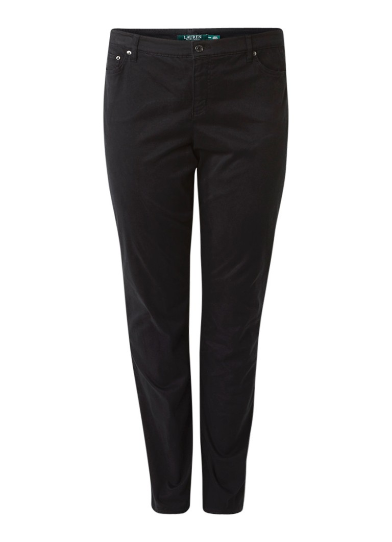 Ralph Lauren Cropped mid rise slim fit jeans