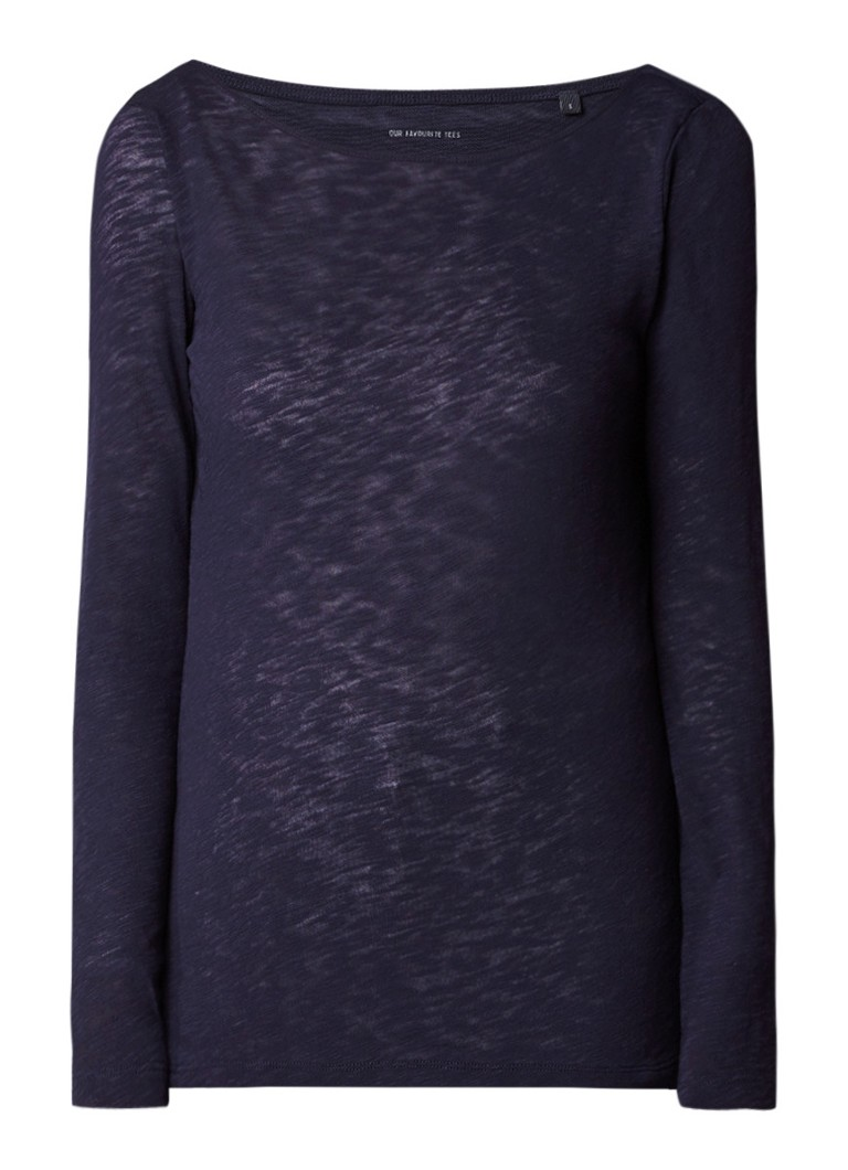 Marc O'Polo Longsleeve met boothals