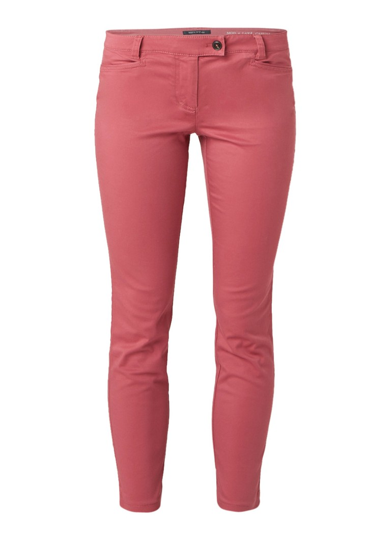 Marc O'Polo Laxa slim fit low rise chino met stretch
