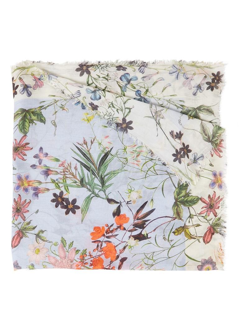 Image of Marc O'Polo Sjaal met bloemendessin 180 x 90 cm