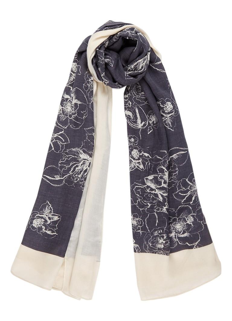 Marc O'Polo Sjaal met dessin 180 x 100 cm