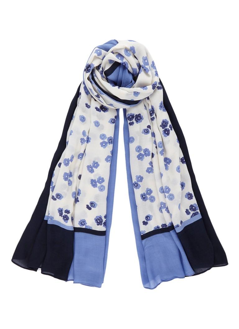 Marc O'Polo Sjaal met bloemendessin 180 x 100 cm
