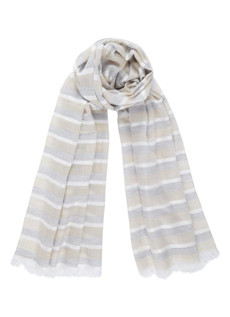Marc O'Polo Oso sjaal in scheerwolblend 180 x 80 cm