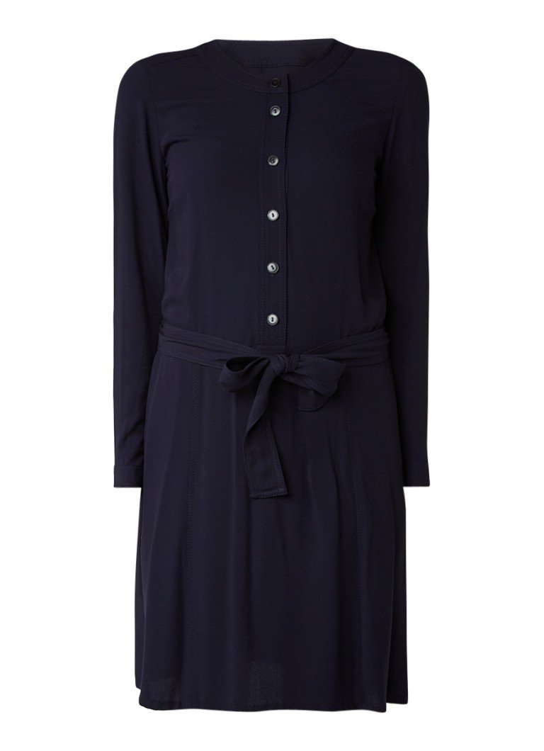 Marc O'Polo Blousejurk van jersey donkerblauw