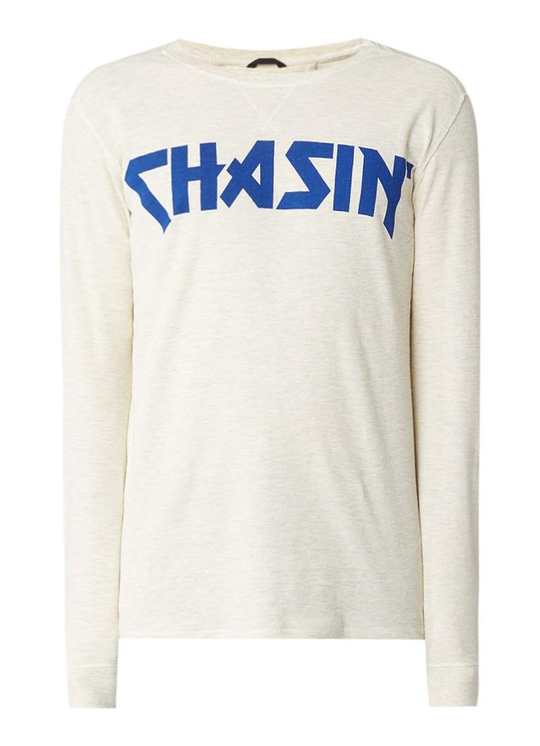 Chasin Class longsleeve met logoprint