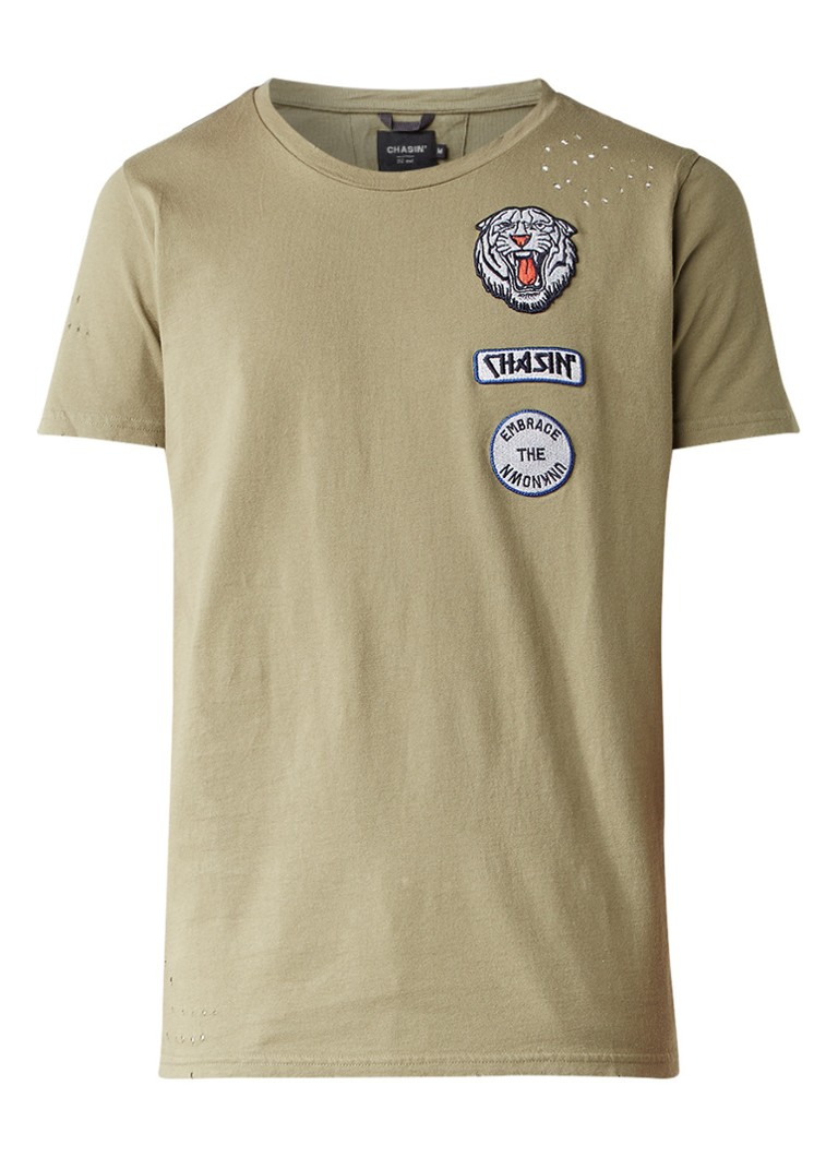 Chasin Dace T-shirt met patches
