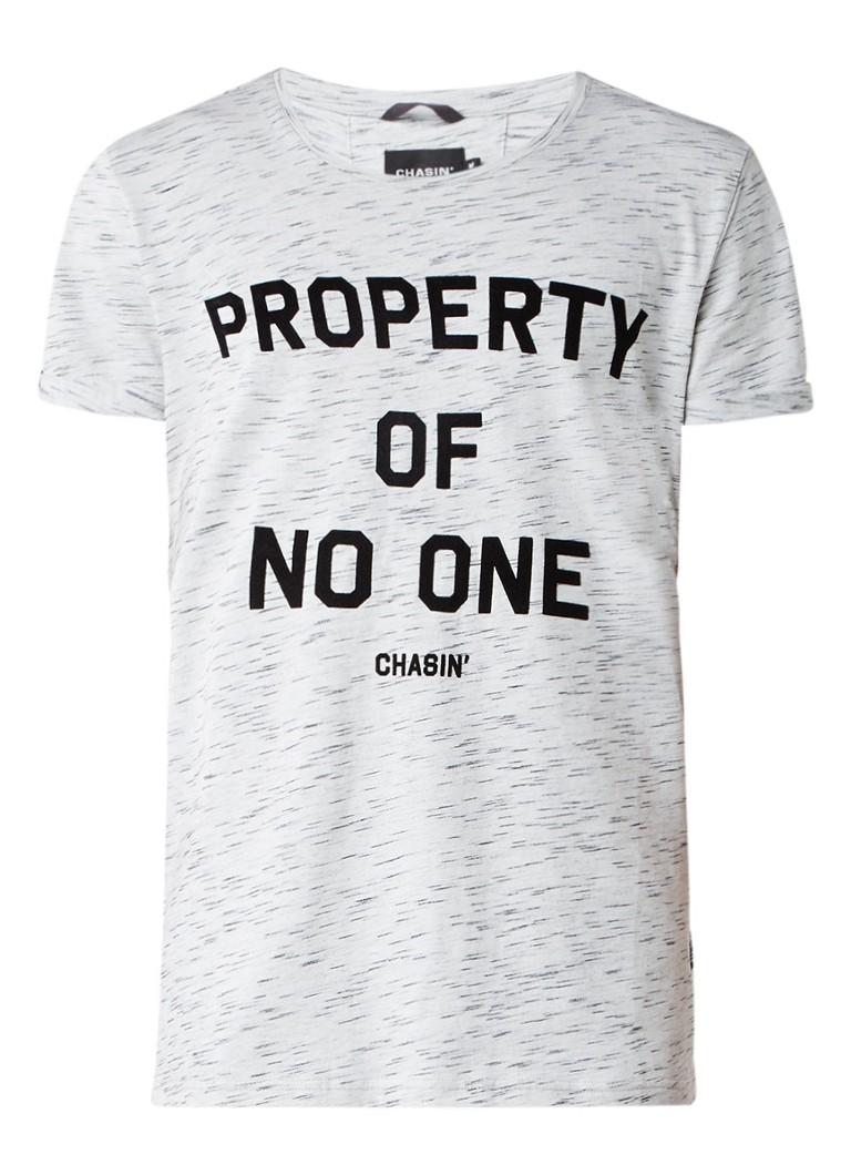 Chasin Schmidth Prop gemêleerd T-shirt