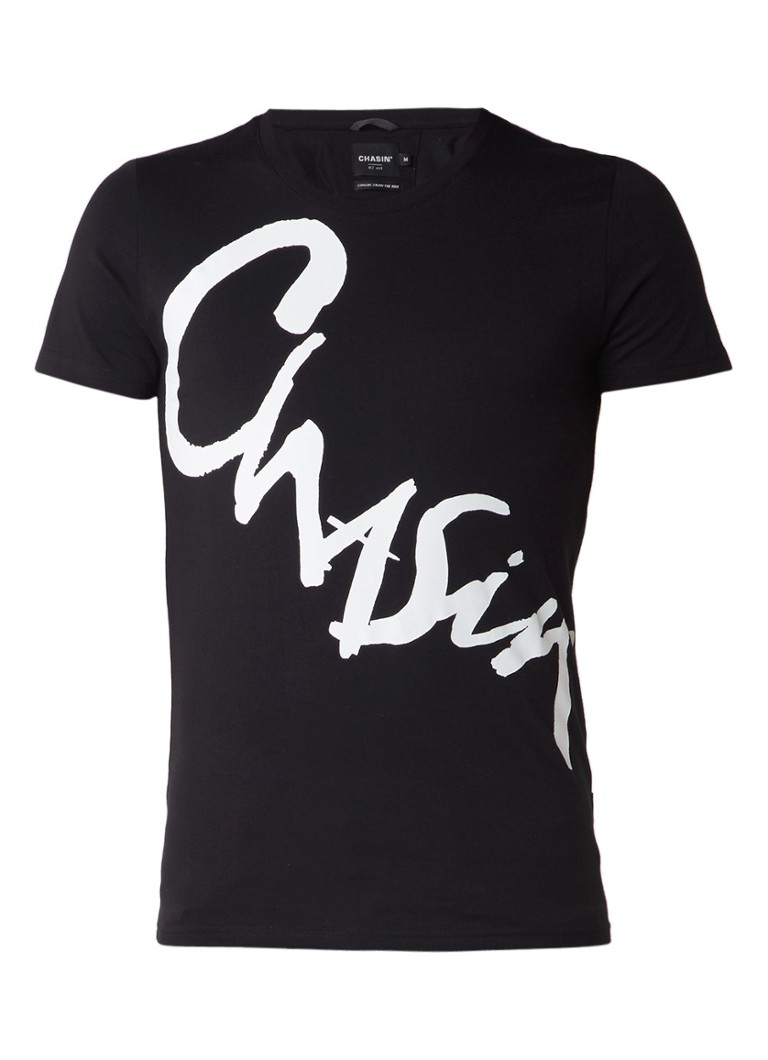Chasin Bambaataa T-shirt met logoprint