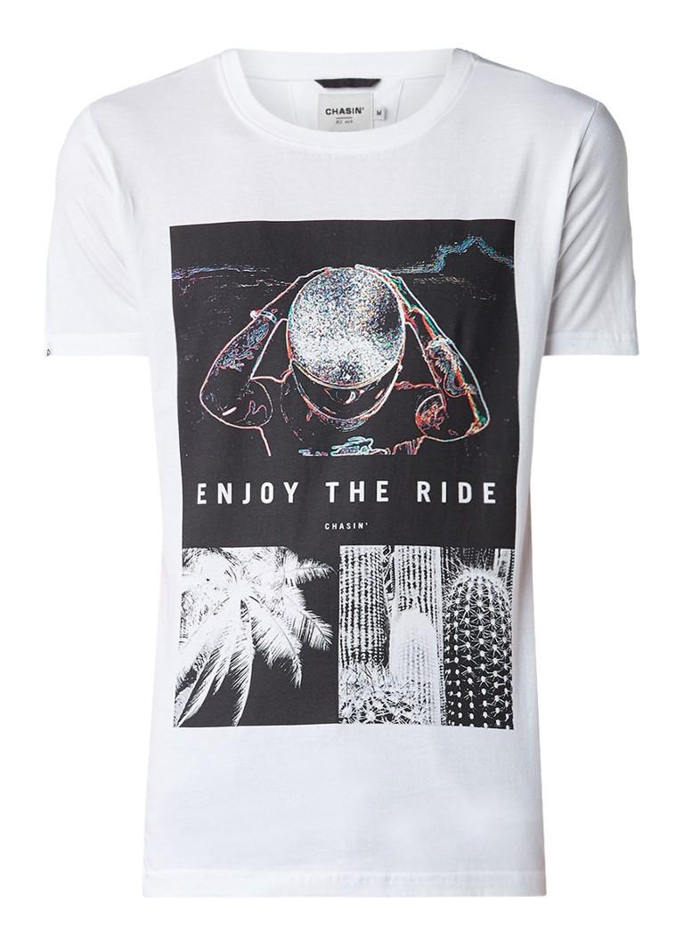 Chasin Chris T-shirt met opdruk