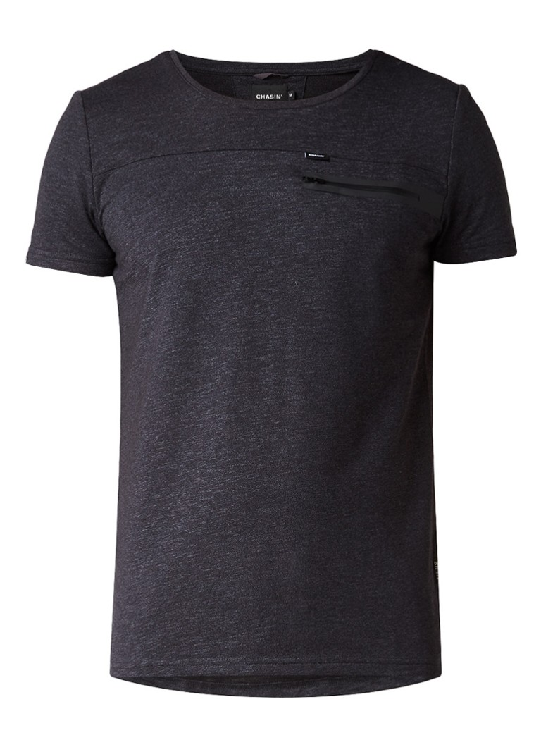 Chasin Game SS T-shirt met gesealde borstzak