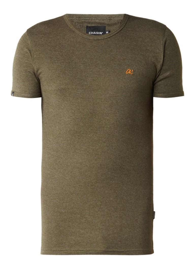 Chasin Base-C T-shirt met ronde hals