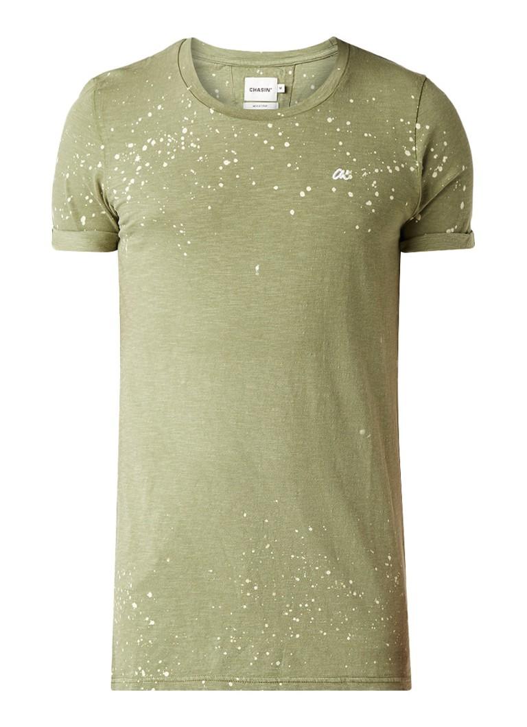 Chasin Jason T-shirt met gevlekt dessin