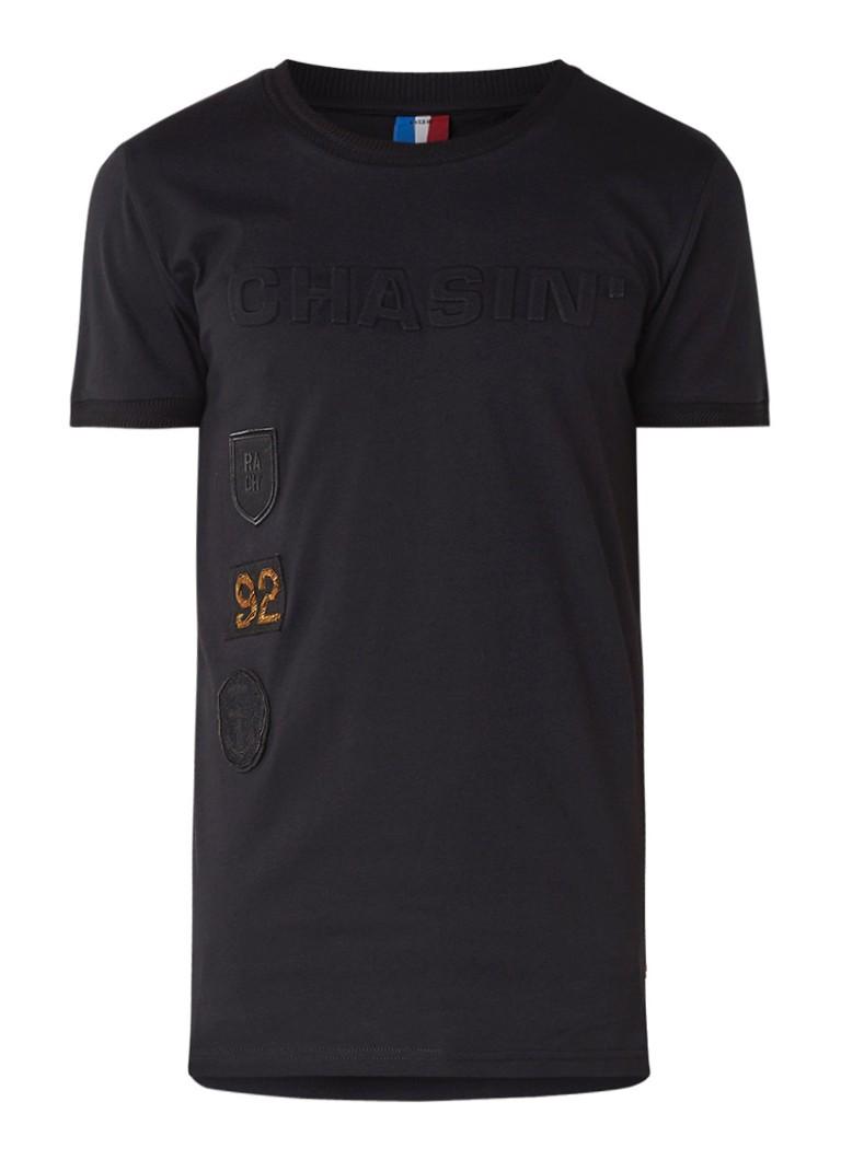 Chasin Lima t-shirt met gestanste logoprint