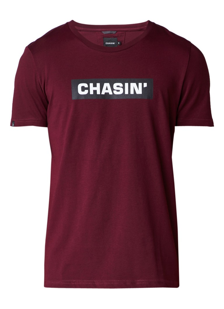 Chasin Box T-shirt met logoprint